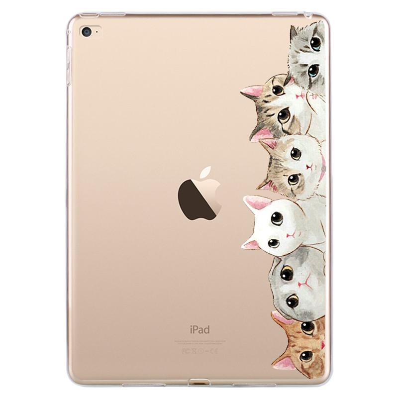 苹果ipad4平板套a1822 1823 a1584保护软壳a1458i派a1475可爱套女