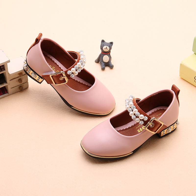 儿童女生鞋子图片
