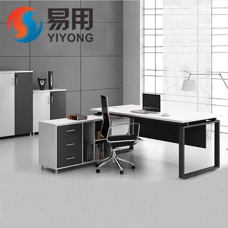 广州办公家具老板桌简约现代板式大班台主管桌经理桌老板办公桌椅图片