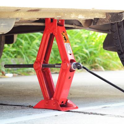 汽車千斤頂手搖式小轎車用小車換胎專用工具阿斯卡利車載液壓搖桿臥式2噸ASCARI 黑色1噸