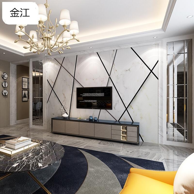 造型仿大理石瓷砖简约彩色护墙板欧式户外手动边框餐厅建材文