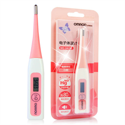 欧姆龙OMRON备孕电子体温计测排卵期女性口腔家用基础温度表怀孕
