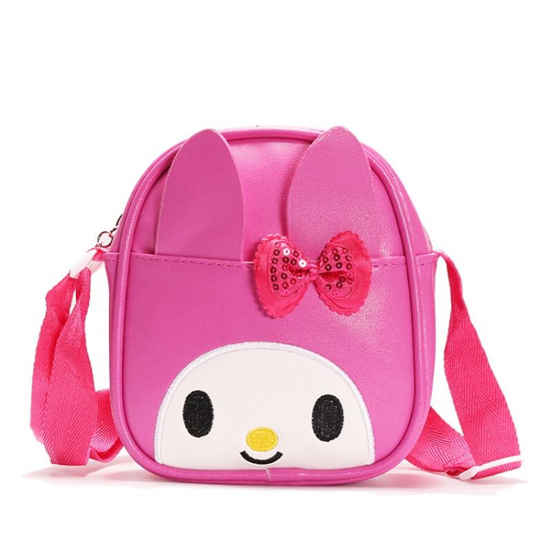 小孩包包女童幼儿背包儿童斜挎包可爱兔子糖果包2-8岁