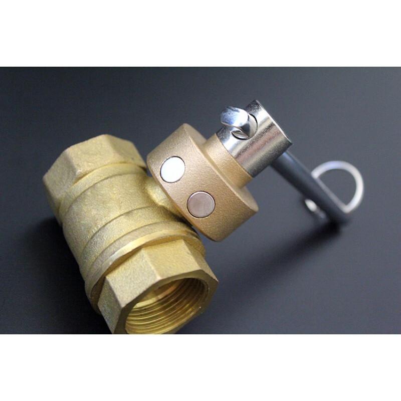 一字型阀门钥匙暖气磁性锁闭阀开关闸阀自来水表前钥匙供暖燃气图片