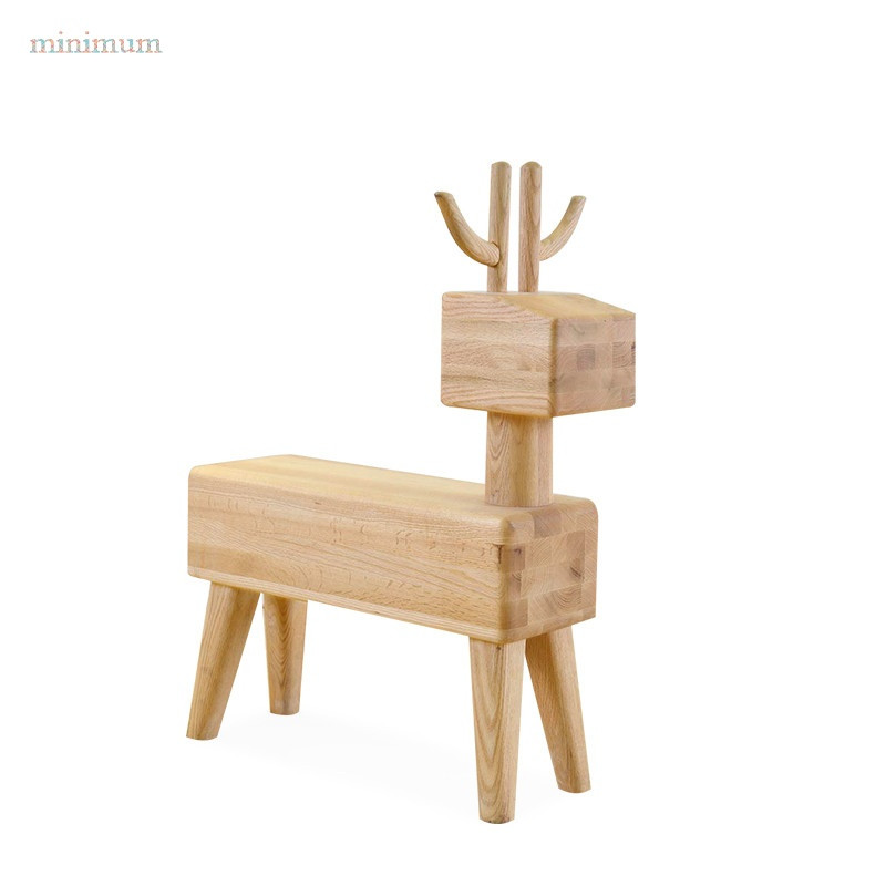 minimum 时尚家用客厅换鞋凳 矮凳创意小板凳儿童实木小凳子图片