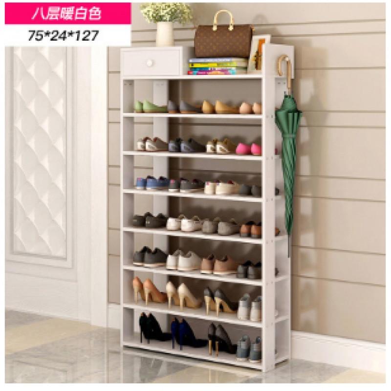 鞋架木质多层客厅木板家用经济简易小型木头鞋柜组装收纳