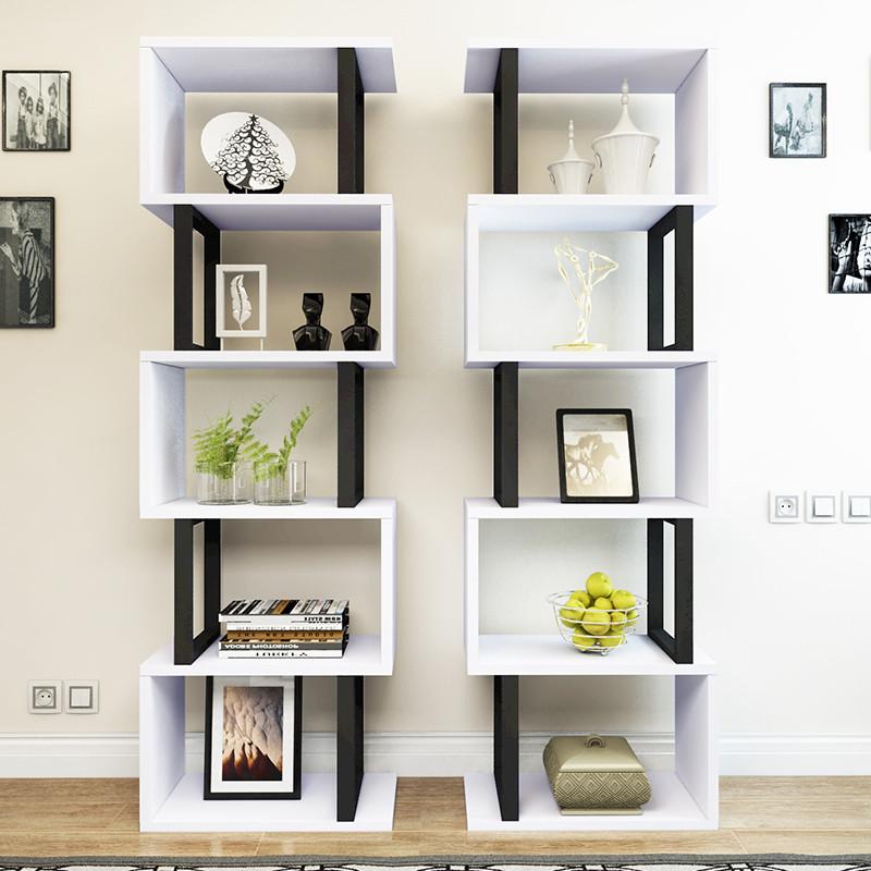 书架货架展示架客厅隔断产品陈列架电视背景架多层花架置物架落地