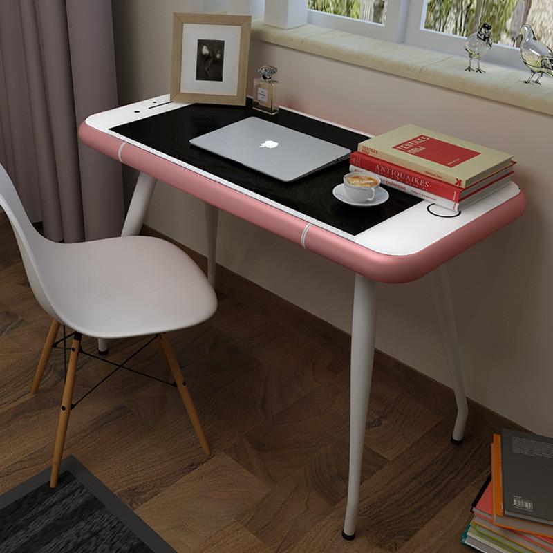 苹果手机造型iphone6s7个性创意形状电脑桌小桌子书桌