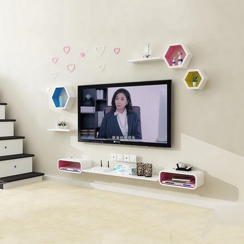 电视柜小户型电视机柜壁挂式简约现代迷你简易电视柜挂墙卧室客厅