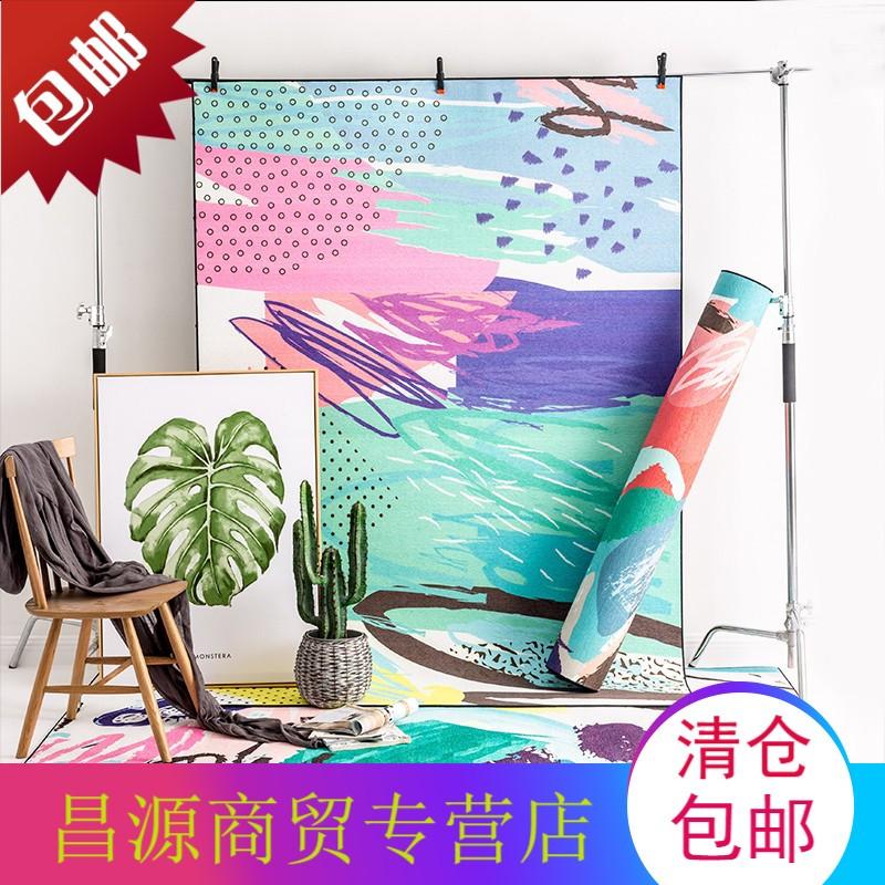 小清新风格卧室地毯日式无毛榻榻米垫子 客厅茶几床边床尾毯家用