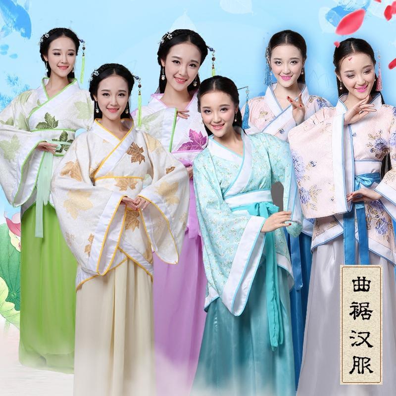 唐装戏服古装服装女仙女唐朝古代汉服演出服古典舞蹈公主贵妃女装
