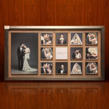 婚纱照实木相框挂墙放大相框制作影楼组合全家福儿童照片墙宫格框图片