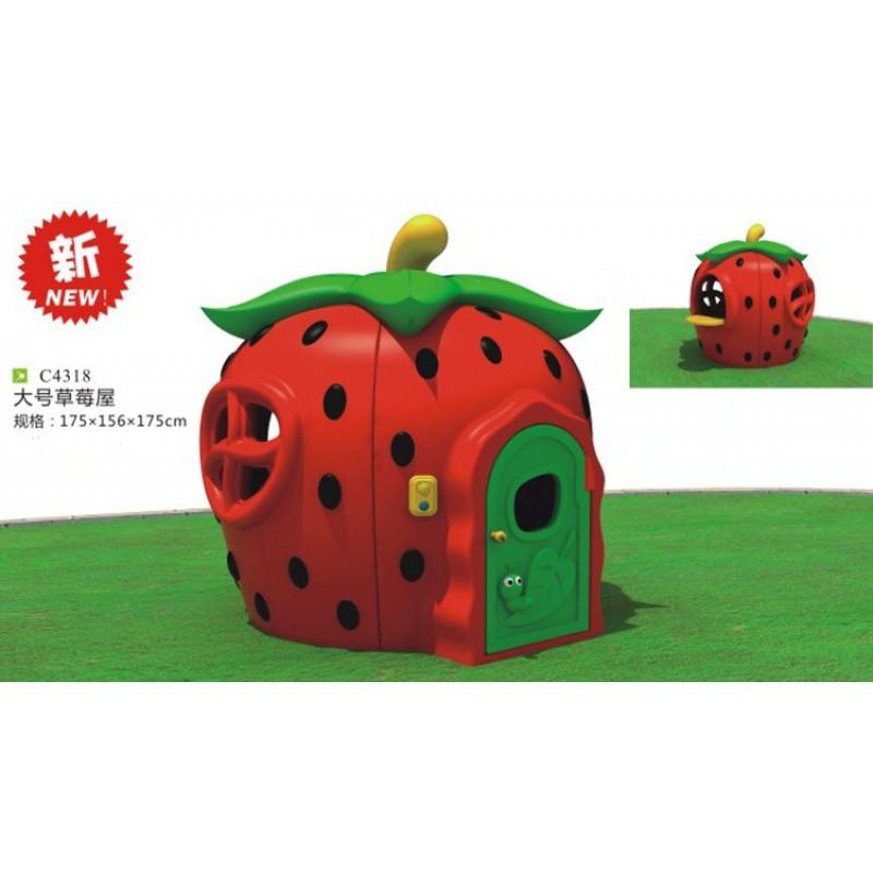 儿童游戏屋蘑菇屋塑料小房子幼儿玩具屋幼儿园娃娃家儿童帐篷小屋