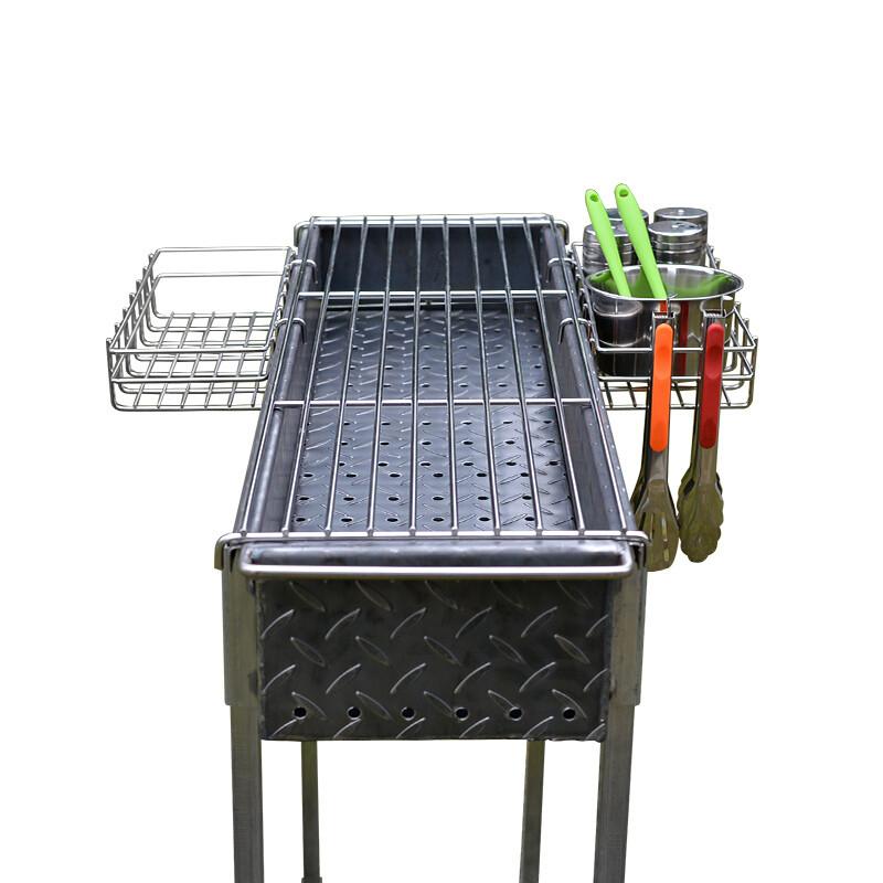 木炭烧烤炉加厚耐用家用便携烤炉羊肉串烧烤架子烤肉炉子