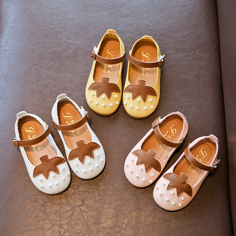促销女童公主鞋儿童小皮鞋女童宝宝鞋女童学步鞋可爱小单鞋1-6岁