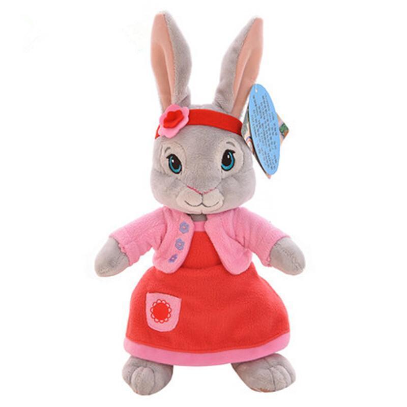 新年礼物比得兔公仔毛绒玩具彼得兔可爱兔兔莉莉布娃娃儿童生日礼物送