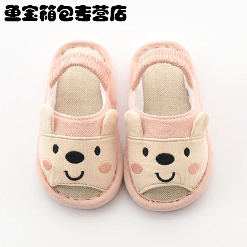 小孩男家居鞋宝宝拖鞋春1-3岁防滑4岁婴幼儿女童拖鞋可爱卡通鞋子夏天