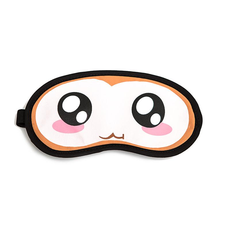 冰凉卡通可爱个性遮光睡眠眼罩冷热敷冰袋护眼罩男女送耳塞
