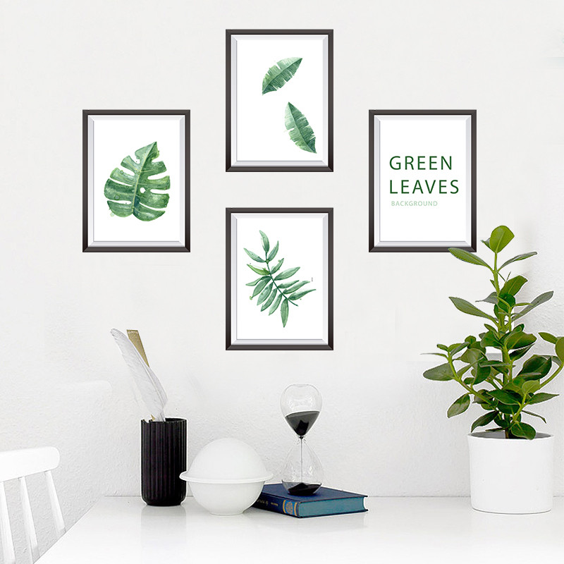 客厅沙发背景墙装饰小清新文艺相框墙贴纸墙画宿舍海报纸贴画自粘