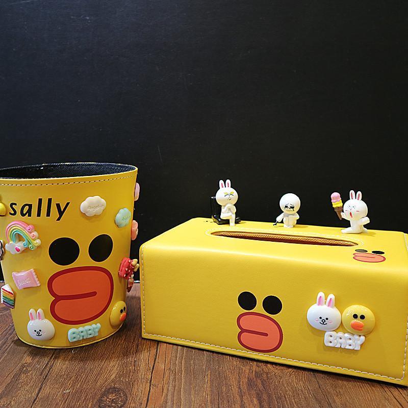 创意桌面垃圾桶家用无盖抗摔儿童杂物桶卡通可爱小号多功能收纳桶