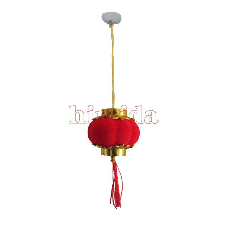 30个2018新年春节小灯笼发财树挂饰挂件散装迷你灯笼过年装饰品