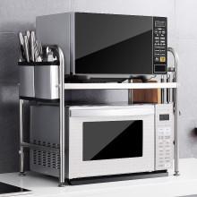 厨房用品置物架2层微波炉烤箱图片图片