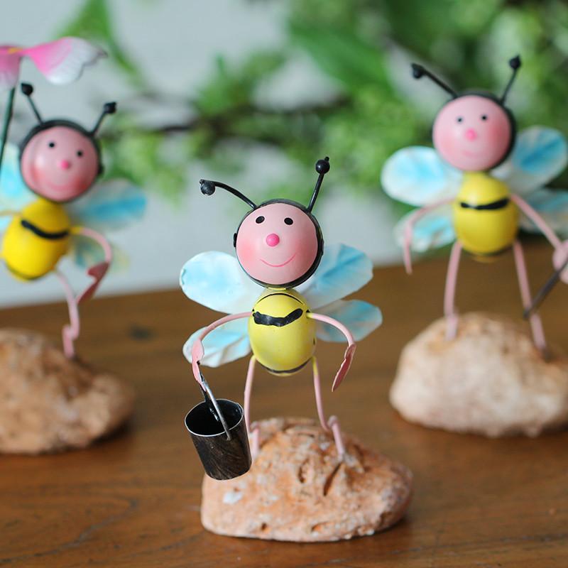 创意可爱铁艺蚂蚁小摆件家居装饰品客厅儿童房间办公室电视柜摆设