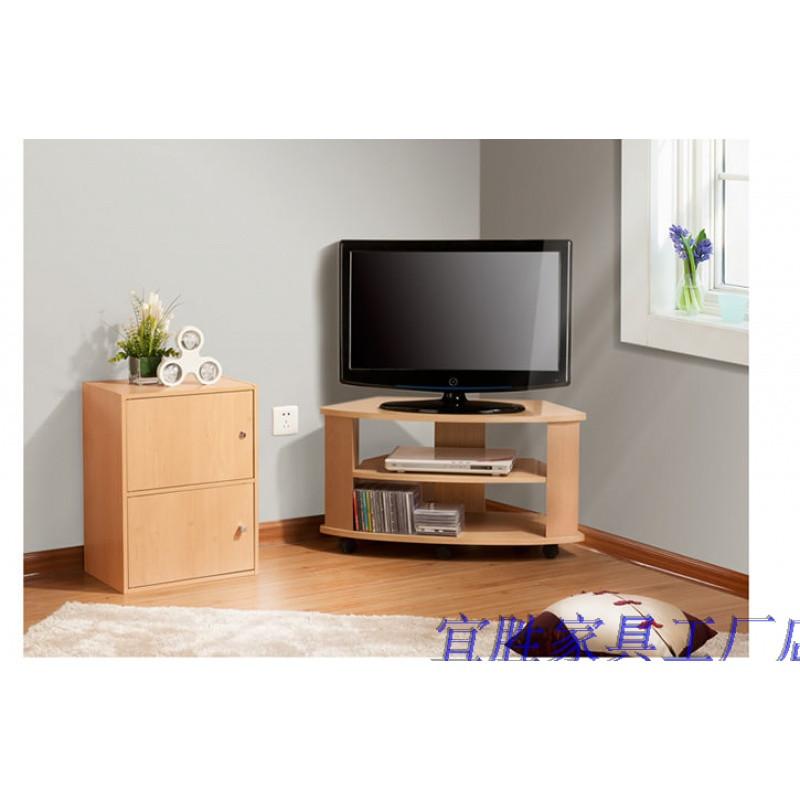 宜勝小戶型轉角電視柜 簡約臥室三角柜子 轉角電視柜