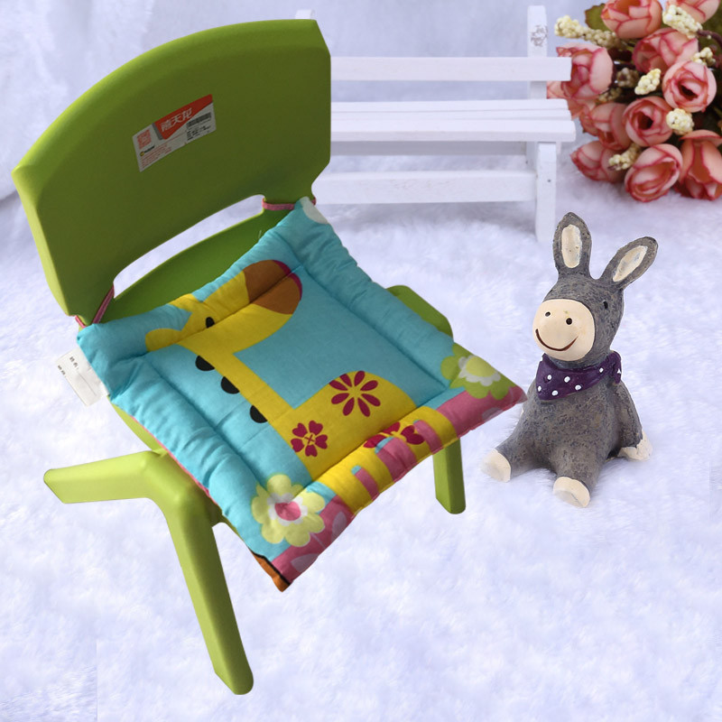 幼儿园小朋友小凳子椅子坐垫加厚纯棉卡通儿童坐垫 支持定做