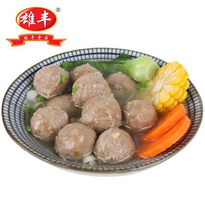 雄丰牛筋丸2500g包装小吃打火锅麻辣烫关东煮肉丸子食材
