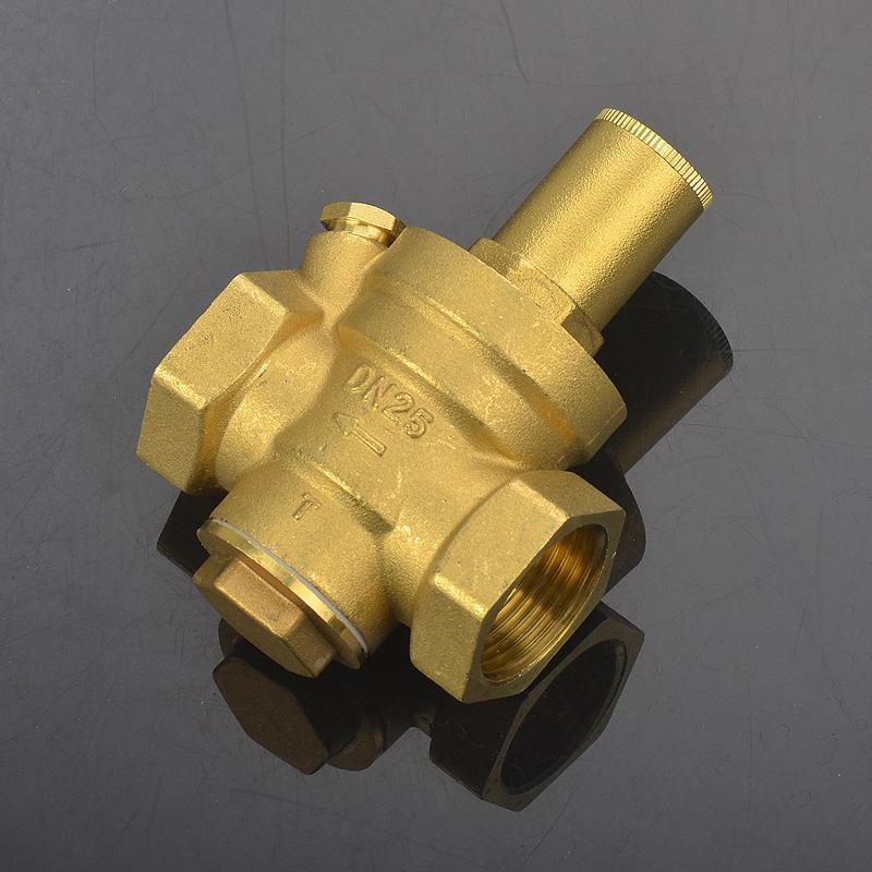 减压阀恒压阀净水器自来水可调减压器泄压阀外牙4分耐图片