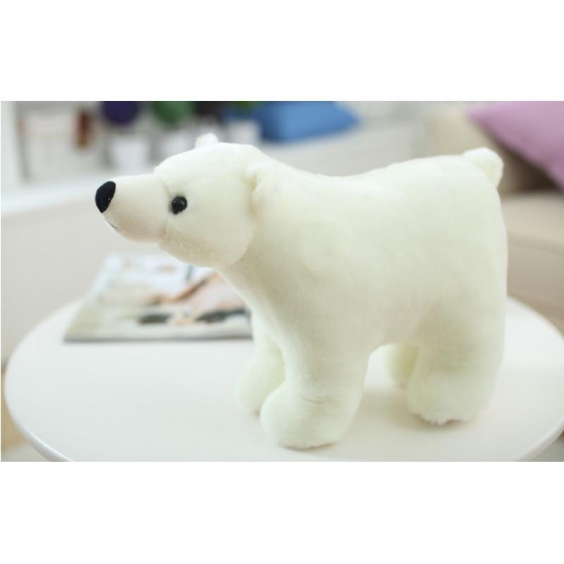 仿真可爱趴趴北极熊毛绒玩具公仔小白熊猫玩偶儿童布娃娃女生超萌