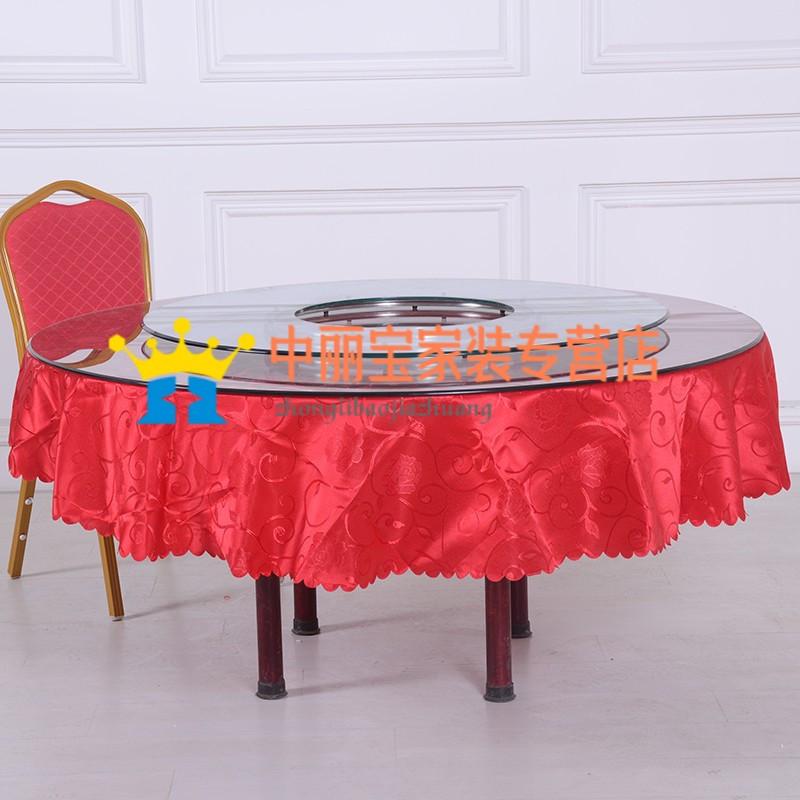 定做 火锅转盘空心圆形钢化玻璃转盘火锅桌转盘圆桌转盘餐桌