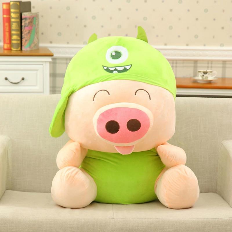 猪公仔毛绒玩具小猪猪抱枕麦兜布偶娃娃可爱女生玩偶大号礼物