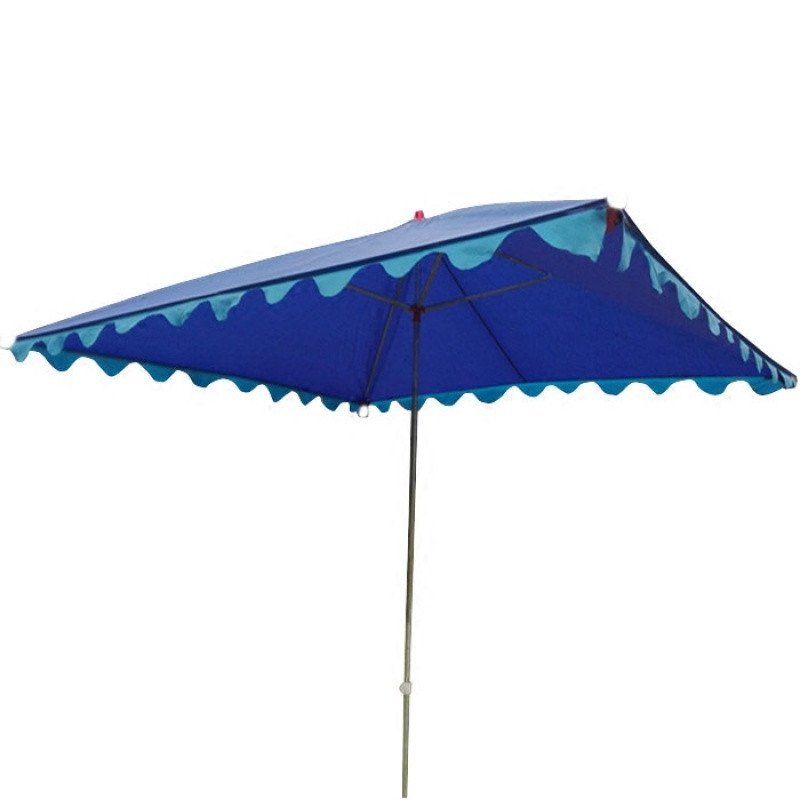 镀锌钢管摆摊遮阳伞中柱长方形大伞斜伞户外沙滩伞帐篷伞雨伞