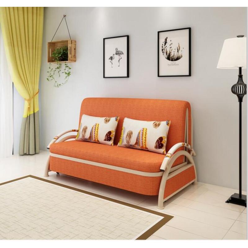 闽威沙发床 多功能折叠沙发床双人1/1.2/1.5米小户型推拉式沙发 拆洗图片