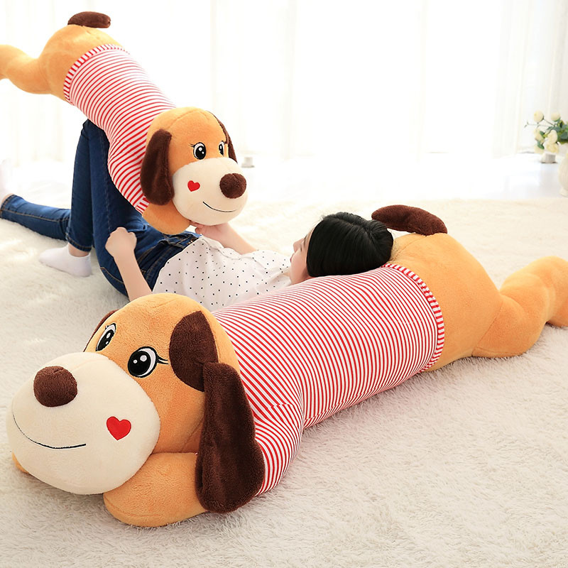 趴趴狗毛绒玩具熊长条睡觉抱枕头可爱萌韩国搞怪女孩布娃娃送女友