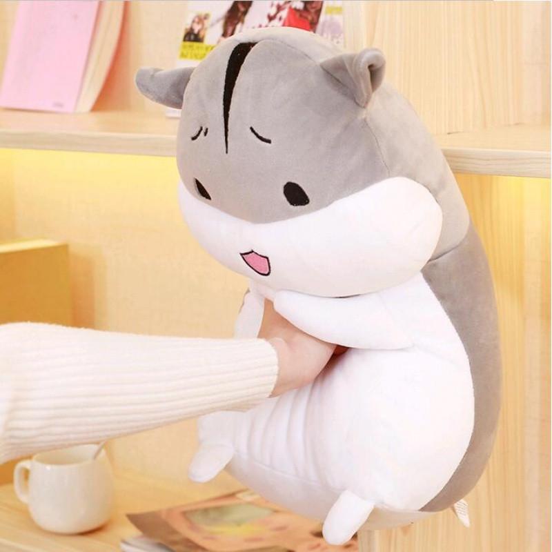超软体胖仓鼠公仔创意玩偶毛绒玩具抱着睡觉的娃娃抱枕可爱女生萌