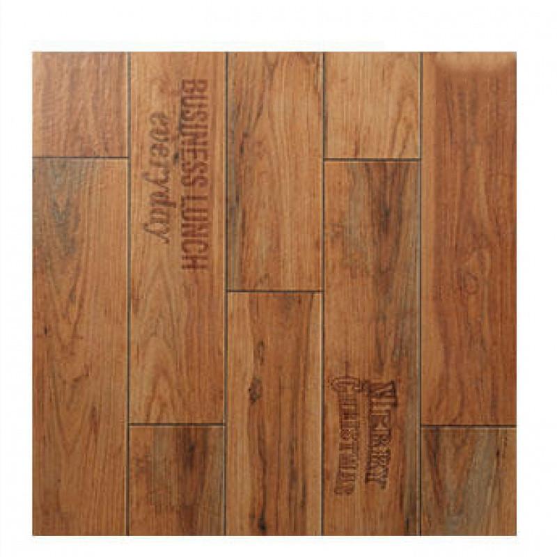 仿古砖印花木纹砖复古地砖客厅卧室地板砖防滑仿木房间砖600x600