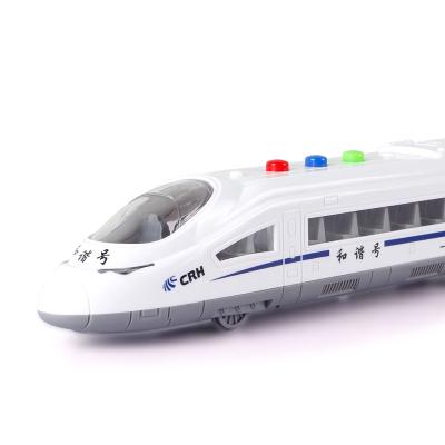 智恩堡/zhienb 儿童玩具音乐惯性车和谐号公安车救护车??头苫谐刀底榛鸪低芬衾殖蹈咛饽P?和谐号