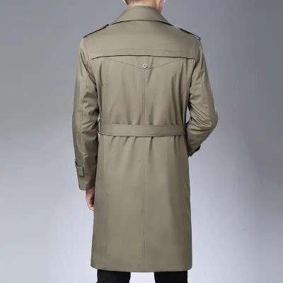 老爷车男装旗舰品牌2019秋冬季老爷车品牌外套中长款棉服中年男装加绒加厚风衣。