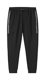 运动型针织休闲裤