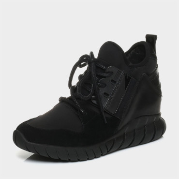 senda/森达冬季专柜同款时尚运动风舒适女休闲鞋3wp21dm6