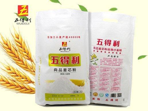 五得利 尚品麦芯粉高筋小麦粉 高筋粉 5kg
