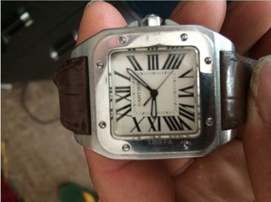 手表转轴拆卸步骤图