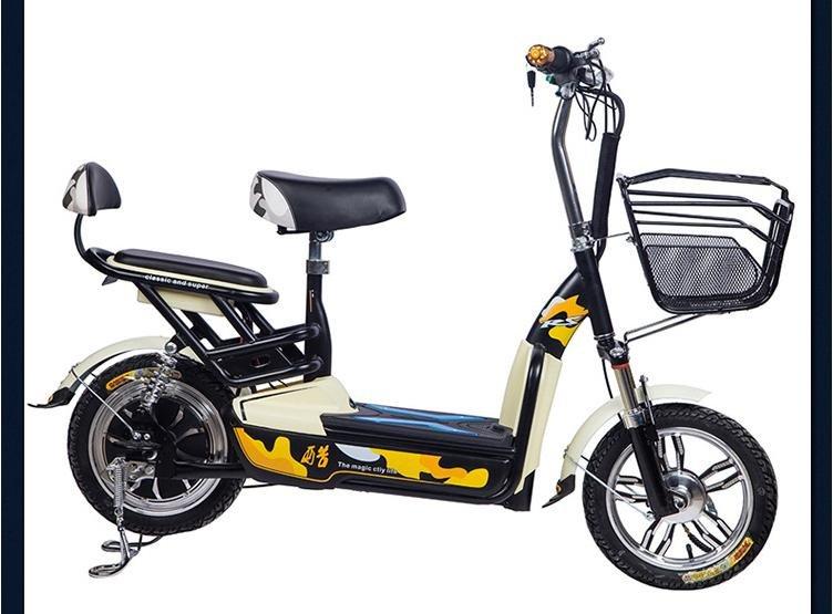 小公主款电动车电瓶车电动自行车电动车