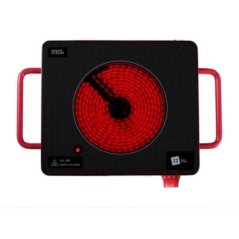 米技miji home cube1 德国米技炉 家用电陶炉 技术防辐 迷你西瓜红