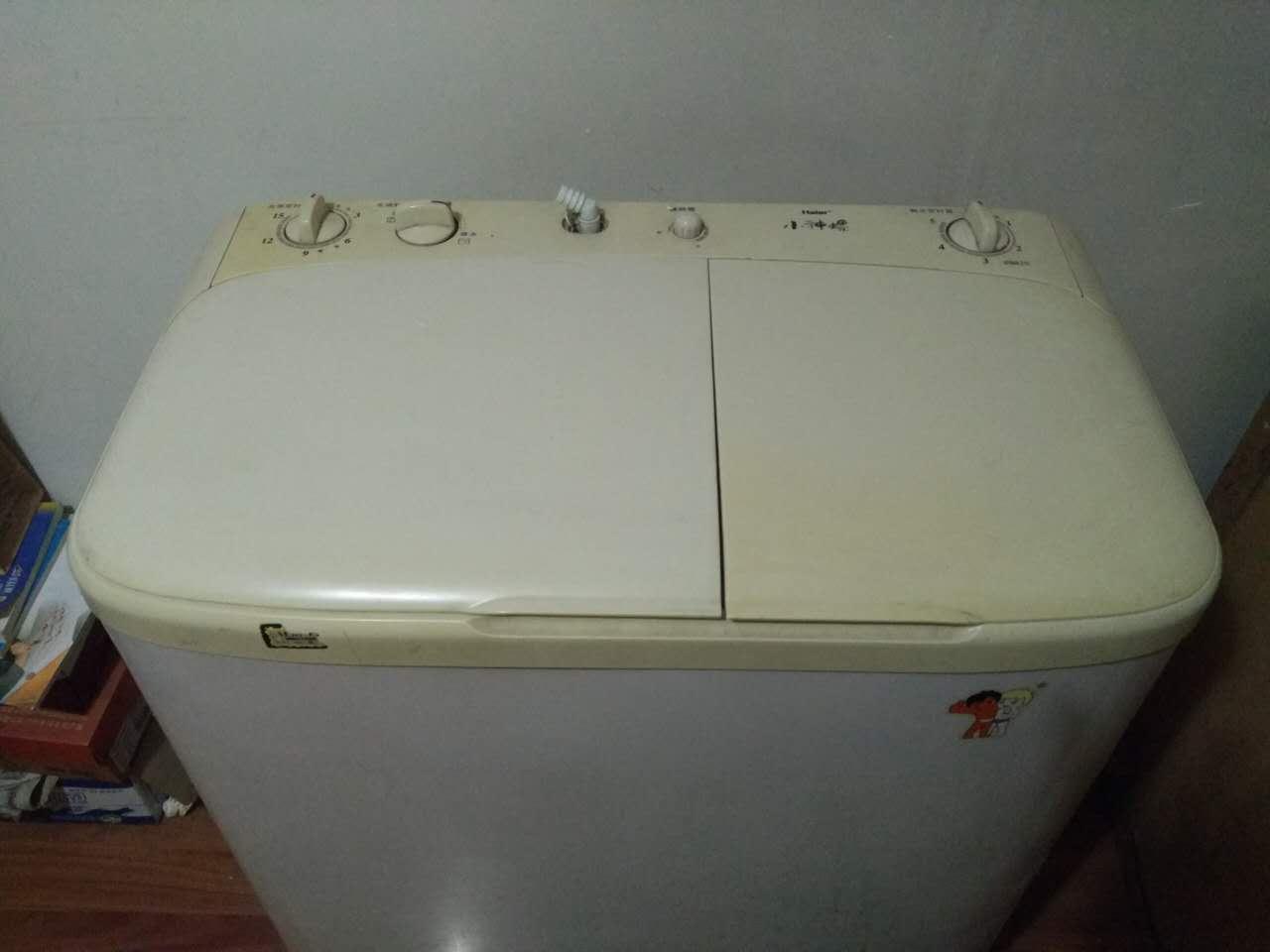 二手海尔小神螺洗衣机交易