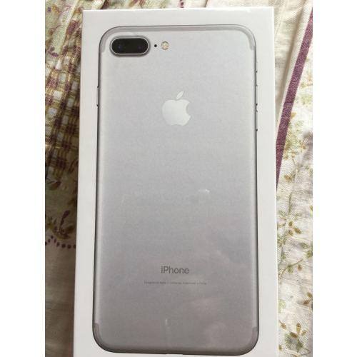 苹果手机7 plus 128g银色