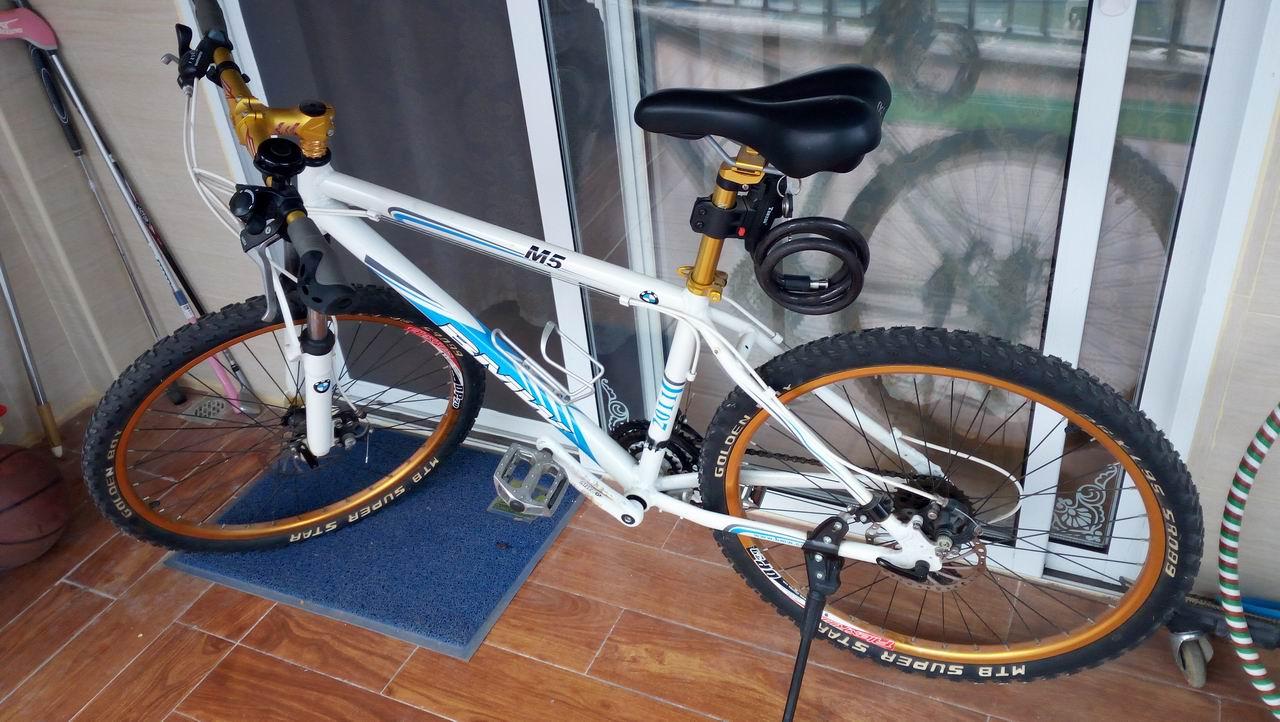 二手宝马m5山地自行车27速 诺玛变速器出售转让_南宁